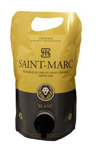 BIB 1,5 L Saint Marc Ventoux blanc