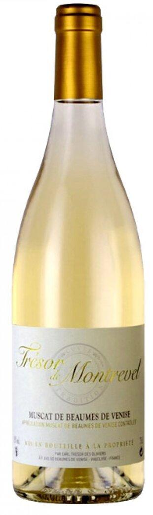 Tresor de Montrevel Muscat Blanc Beaumes de Venise 0,75l